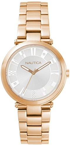 Nautica Damen-Armbanduhr NAPFLS006