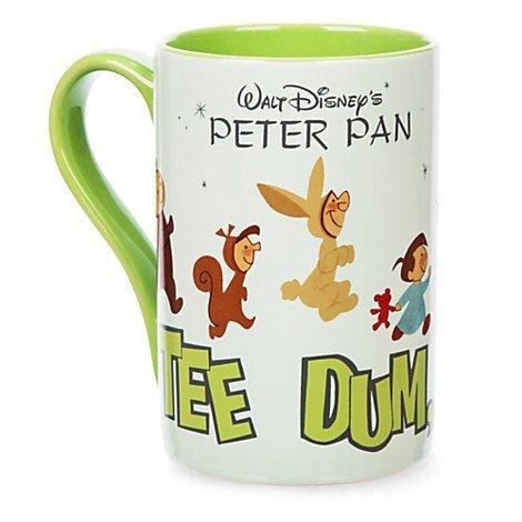 Disney Store Peter Pan Caffè Tazza di registrare, 16oz