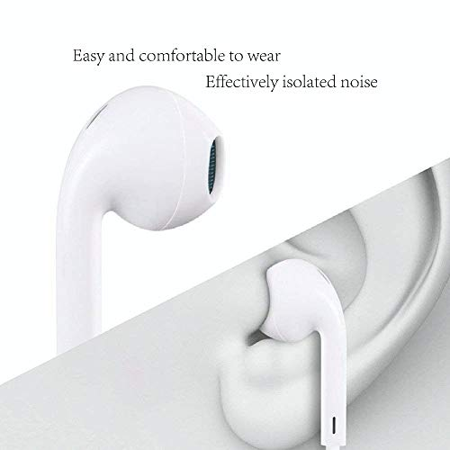 Stealkart Noise Isolating in Ear Canal Headphones Earphones with Pure Sound, Mic and Powerful Bass for Redmi 7, OnePlus 7 Professional, Oppo F11, Vivo V15, Redmi Y3, Samsung Galaxy M20, J2 Professional, J7 Prime, M10 Image 4