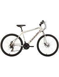 "KS Cycling Calgary VTT semi-rigide Blanc 26"""