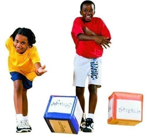 Preisvergleich Produktbild Movecubes 3er-Set - Schaumstoffwürfel mit Vinylbezug (Würfelgröße: 17 x 17 cm / Gewicht: 200 g) von SPORDAS