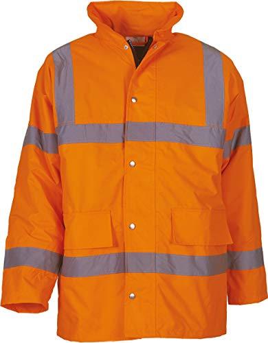 Yoko Unisex Hi-Vis Sicherheitsjacke HVP300 Hi-Vis Orange 6XL