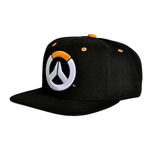 Overwatch Snapback Cap Basecap Game Logo Characters schwarz (Baseball-hüte Lizenzierte)