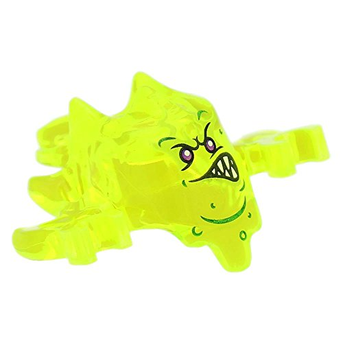Preisvergleich Produktbild LEGO® Figuren, Kopfbedeckung Ninjago Skreemer Maske, Transparent Neongrün