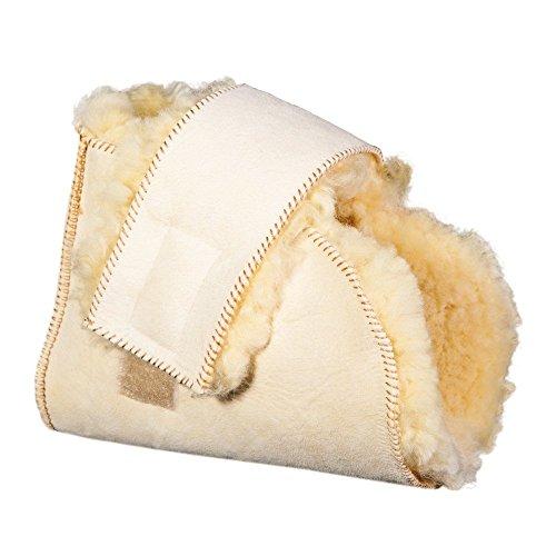 Patuco antiescaras Lambskin | Producto Premium | Máxima suavidad | Fabricado con piel de merino australiano...