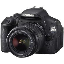 Canon EOS 600D - Cámara Réflex Digital 18.7 MP (Objetivo EF-S 18-55mm)