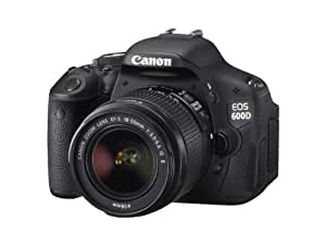 Canon EOS 600D Digital SLR Camera (inc. 18-55 mm f/3.5-5.6 IS II Lens Kit) - (Discontinued by Manufacturer)