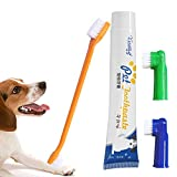 SayHia Dog Toothbrush, Pet Cat Finger Toothbrush, Sensitive Dental Hygiene Care Brush Keeps Teeth Gums Clean, Healthy