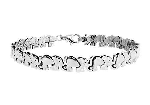 Tuscany Silver Damen - Armband Sterling-Silber 925 Rundschliff Diamant 8.29.4552