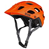 IXS RS Evo Helm MTB Trail/All Mountain Erwachsene, Unisex, Orange, SM (54-58 cm)