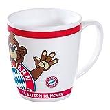 FC Bayern München Kindertasse / Tasse / Tasse Berni weiß FCB plus gratis Aufkleber forever München