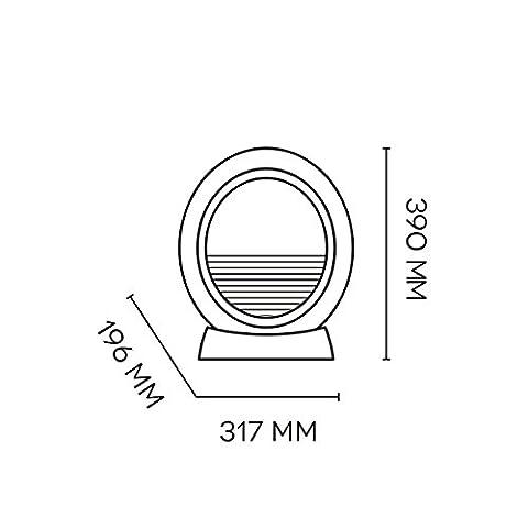 Argoclima-Pepita-Chimenea-elctrica-cermica-oscilante-gris-antracita
