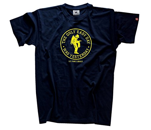 the-only-easy-day-was-yesterday-us-navy-seals-t-shirt-s-xxl-blau-m