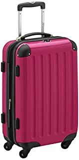 HAUPTSTADTKOFFER - Alex - Carry on luggage On-Board Suitcase Bag Hardside Spinner Trolley 4 Wheel Expandable, 55cm, pink (B00569ZO60) | Amazon price tracker / tracking, Amazon price history charts, Amazon price watches, Amazon price drop alerts