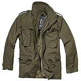 Brandit Herren M-65 Feldjacke Classic Jacke, Grün (Oliv 1), XX-Large