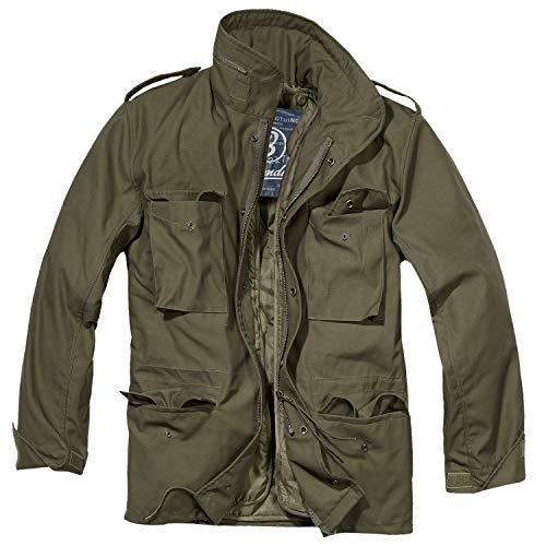 Kostüm Grün Soldat - Brandit Herren M-65 Feldjacke Classic Jacke, Grün (Oliv 1), XXXX-Large