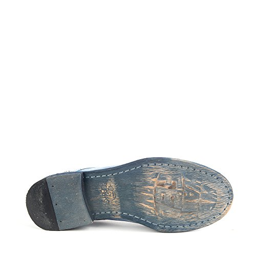 Felmini - Scarpe Donna - Innamorarsi com Bomber 8349 - Scarpe stringate - Pelle Genuina - Blu Blu