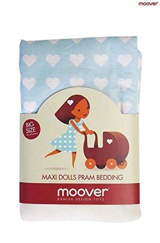 Unbekannt Moover Moov -BU de 997Corazones Camas Ropa de Cama/Juego De Cama para muñecas, Color Azul
