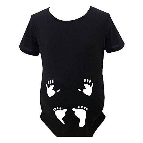 Gagacity Schwanger Tshirt Baby Lustiges Witziges Süßes Umstandsshirt