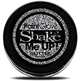Paint Glow Shake Me UP! Holographic Glitter Shaker Silver