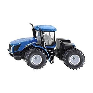 SIKU Spielzeug 1:50 Preassembled Tractor - Modelos de vehículos de Tierra (1:50, Preassembled, New Holland T9. 560, Tractor, Metal, De plástico, Negro, Azul)