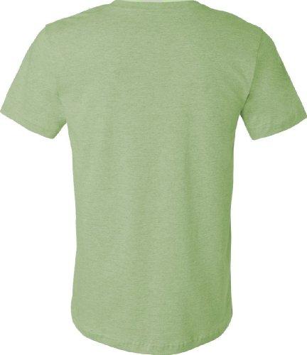 Belowty Bella + Canvas Unisex Jersey Short Sleeve Tee grün - Heather Green