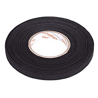 MultiPurpose Car Self Adhesive Anti Squeak Rattle Felt Automotive Wiring Harness Tape (Size : 9mm x25 m)