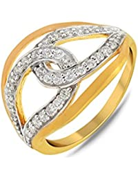 P.N.Gadgil Jewellers Lavanya Collection 22k (916) Yellow Gold Ring - B01M8HXR0Y