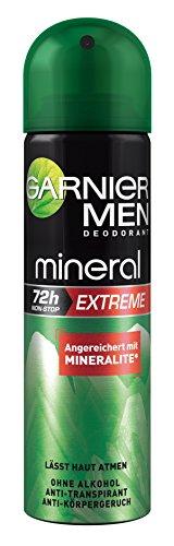 Garnier Garnier men deodorant mineral extreme - deospray männer 72h 3er pack 3 x 150 ml