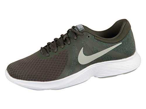 Nike Herren Revolution 4 EU Laufschuhe, Mehrfarbig (Sequoia/Spruce Fog/Mineral Spruce/White 302), 46 EU - Womens Revolution