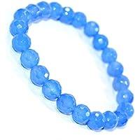 Bracelet Chalcedoney 8 MM Birthstone Handmade Healing Power Crystal Beads. preisvergleich bei billige-tabletten.eu