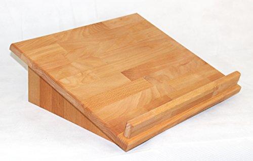 Lesepultaufsatz, Buche geölt, als Lapdesk, Tischaufsatz oder zum Stehpult erweiterbar, echtes Holz