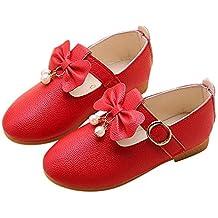 40786b1c269 Zarupeng Zapatos para Niños Zapatos de Niña de Flores de Moda Sólidos  Zapatos Casuales a Zapatos