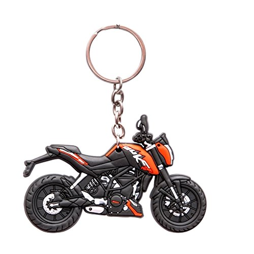 Oyedeal KTM Duke 200 Bike Shape 3D Key Chain KYCN256.  available at amazon for Rs.219