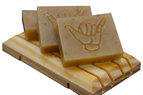 3x Rein natürliche Sandalwood/Sandelholz Seife Ohne Chemie für gepflegte Hände Handgemacht Beauty Set Seife 3x20g (Sehr ergiebig!) -