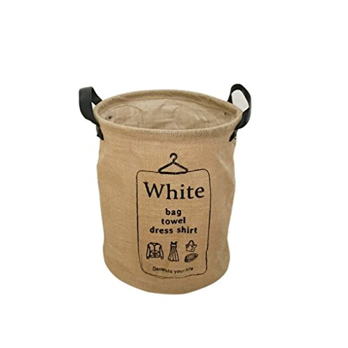qhgstore-panier-de-rangement-sundries-menagers-boite-blanchisserie-vetements-baquets-baril-blanc