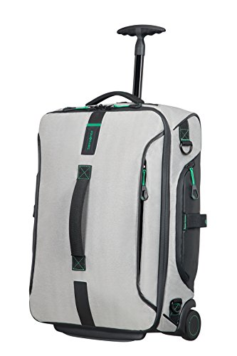 SAMSONITE Paradiver Light - Wheeled Duffle 55/20 Strict Cabin Bolsa de viaje, 55 cm, 48.5 liters, Gris (Jeans Grey)
