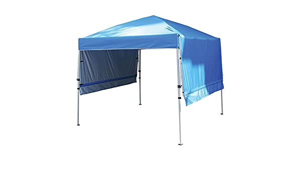 Rite Aid Home Design Double Awning Gazebo Sun Shelter Canopy Blue Amazoncouk Garden Outdoors