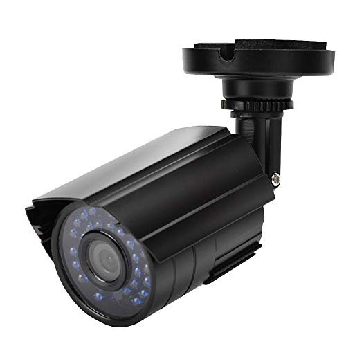AHD1080P HD Cámara de vigilancia, Cámara de Bala con IP66 Impermeable + 30 luz infrarroja visión Nocturna, 2000TVL Cámara de Seguridad para hogar, Oficina(NTSC)