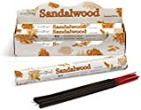 Stamford Sandalwood Incense, 20 Sticks x 6 Packs