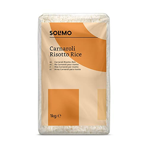 Amazon Brand - Solimo - Carnaroli Risotto Rice - 4kg (4 x 1kg)