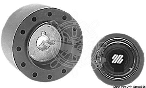 ULTRAFLEX Angelhaken Drillingshaken X63 Nabe für Corsica und UFLEX Steuerräder, 58719