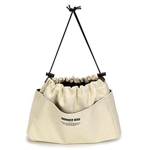 10 Pockets Bag Organiser, Felt Handbag Liner - Large