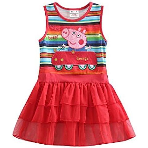 Peppa Pig - Vestido - globo - para niña