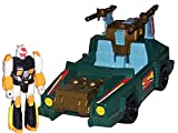 Transformers G1 Actionfigur & Vehicle Set: Action Masters: Attack Cruiser with Sprocket