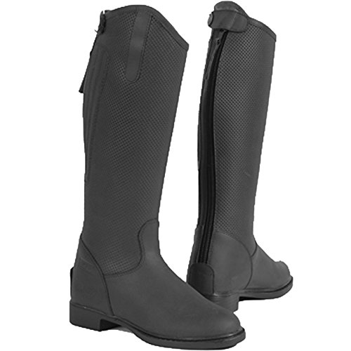 Toggi Tucson Rider hoch Nubukleder Country Stiefel in allen Farben und Größen schwarz schwarz UK 12 / EU 31 -