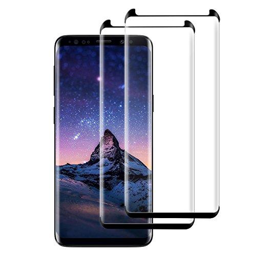 Mejor Protector de Pantalla alta definición y ajuste perfecto para Samsung Galaxy S9 Plus, Hepooya