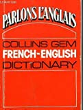 Cover of: French-English, English-French Dictionary (Gem Dictionaries) | Norman C. Anderson' 'Gustave Rudler