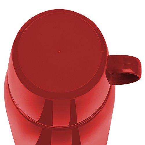 Emsa ROCKET Isolierflasche Trinkflasche Reiseflasche 1,0l rot Isolierkanne