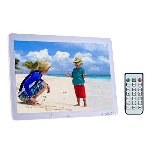 Marco digital Fotos vídeos Andoer 15TFT LCD 1280*800pantalla